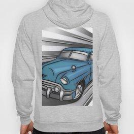 Classic Car Turquoise Hoody
