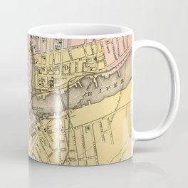 Vintage Map of Bangor ME (1894) Coffee Mug