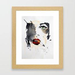 Ava. Framed Art Print