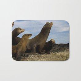 Sea lions Bath Mat