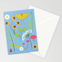 Botanical Woodland Forest Stationery Cards