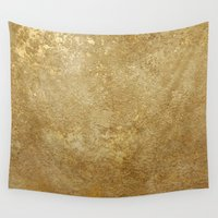 rush Wall Tapestries featuring Gold Rush by 83 Oranges™