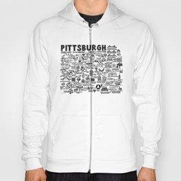 Pittsburgh Map  Hoody