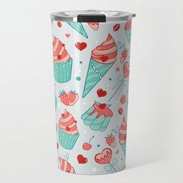 Valentine's sweets - Pastel Travel Mug