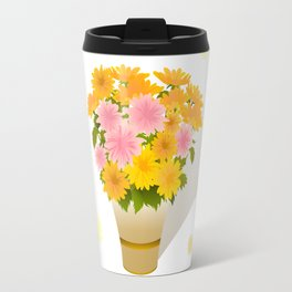 Bouquet of asters Travel Mug