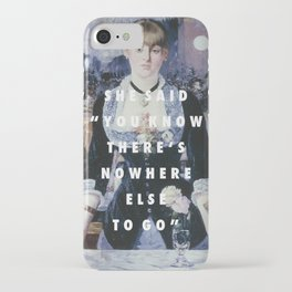 Run to the Folies-Bergere iPhone Case