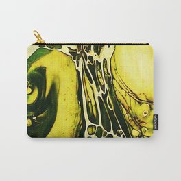 Tint Blot - Cracked Glass Yellow Carry-All Pouch