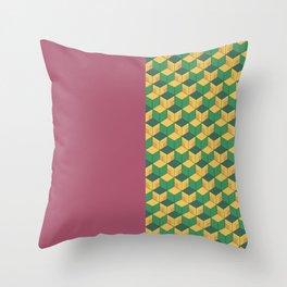 Tomioka Pattern Throw Pillow