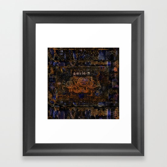 Emblem Framed Art Print
