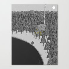 'Isolation' Canvas Print