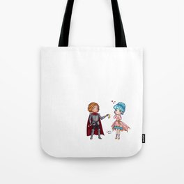 Valentine Tiara Tote Bag