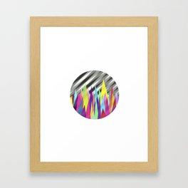 Zackenpunkt No. 3 Framed Art Print