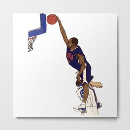 Vince Carter Olympic Dunk Metal Print
