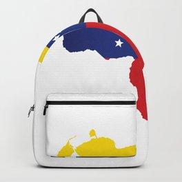 Venezuela - venezuelan heart - flag design Backpack