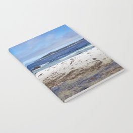 Carmel Beach High Tide Notebook
