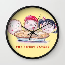 The Sweet Eaters Wall Clock