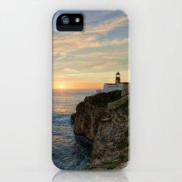 Cabo de Sao Vicente, Algarve iPhone Case