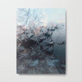 Crystal Metal Print