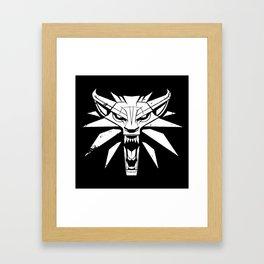 The Witcher Framed Art Print