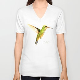 Hummingbird I Unisex V-Neck