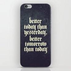be better iPhone & iPod Skin
