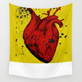 Red Heart Wall Tapestry
