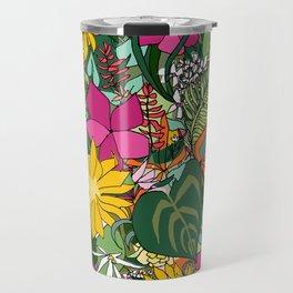 Tropics and Plants Travel Mug