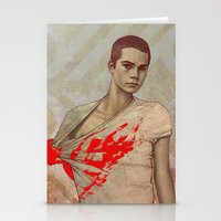 stiles stilinski Stationery Cards featuring Stiles Stilinski by Sudjino