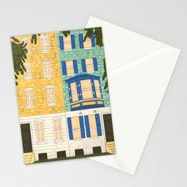 Philadelphia Row Homes Stationery Cards