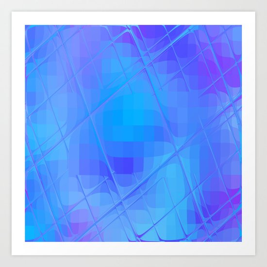 Re-Created Twisted SQ XL by Robert S. Lee Art Print