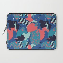 Vivid Collaged Geometric Tribal Abstract Geo Native Laptop Sleeve