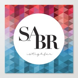 SABR Canvas Print