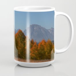 Autumn in the Grand Teton Moutains Mug