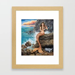 The Looking Glass Framed Art Print