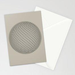 Fibo Orb Sepia Stationery Cards