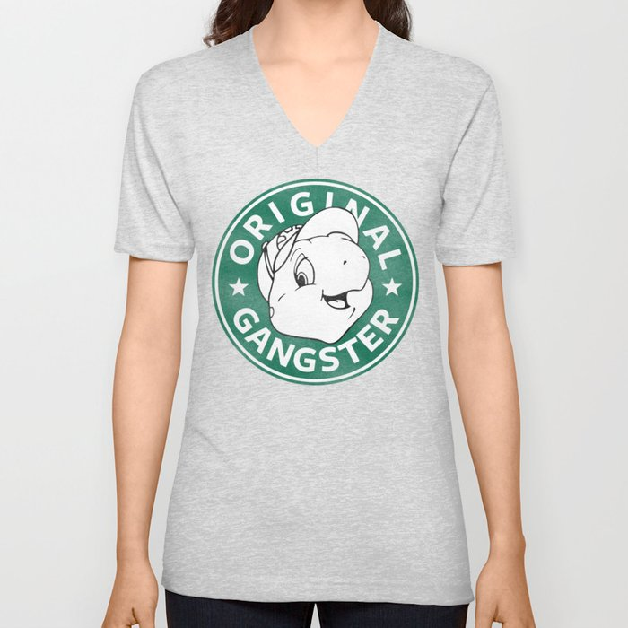 Franklin The Turtle - Starbucks Design Unisex V-Neck