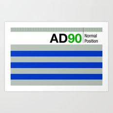 AD90 Art Print