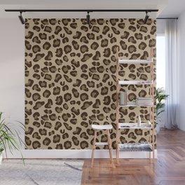 Leopard-Beige+Brown Wall Mural