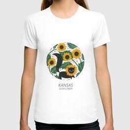 American Cats - Kansas T-shirt