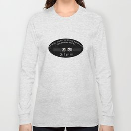 Zip It Long Sleeve T-shirt
