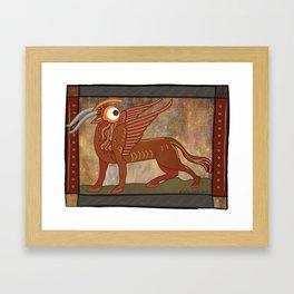 pegasus eyetiope Framed Art Print