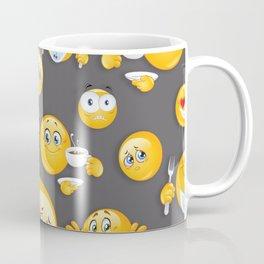 Emoji Pattern 5 Coffee Mug