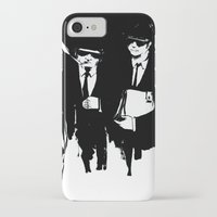 blues brothers iPhone & iPod Cases featuring blues brothers by serenita