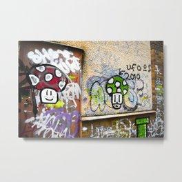 Super mario graffiti Metal Print
