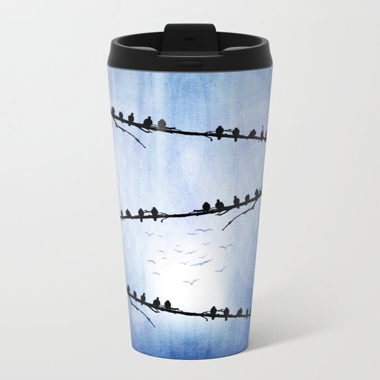 Barricade Metal Travel Mug
