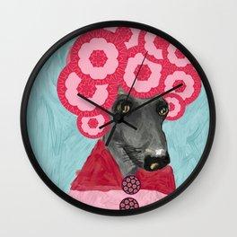Frida in bloom Wall Clock