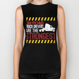 On Road Truck Drivers Are The Strongest Biker Tank