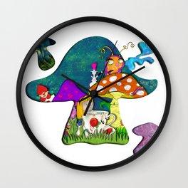 alice #2 Wall Clock