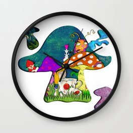 alice #2 Wall Clock
