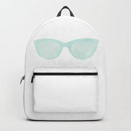 blue sunglasses Backpack